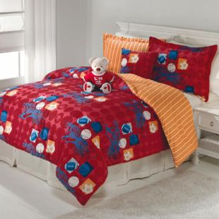 Pem America Build a Bear Sports Comforter Set