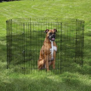 Easy Dog Exercise Pen - Black