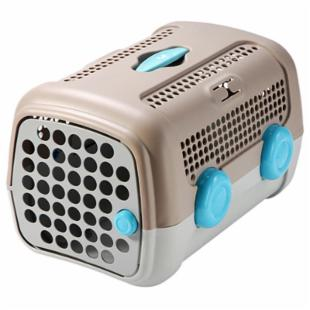 UP A.U.T.O. Pet Carrier-Tan/Grey