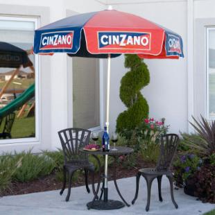 Cinzano 6-ft. Patio Umbrella