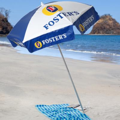 Fosters Lager 6 ft. Beach Umbrella