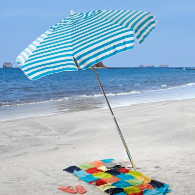 6 ft. Cabana Stripe Beach Umbrella