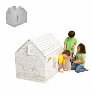My Very Own House and Hide and Seek Cardboard Playhouse 2 Pack