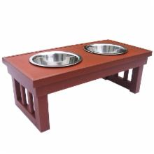  Habitat-n-Home Double Raised Diner &amp; Bowls