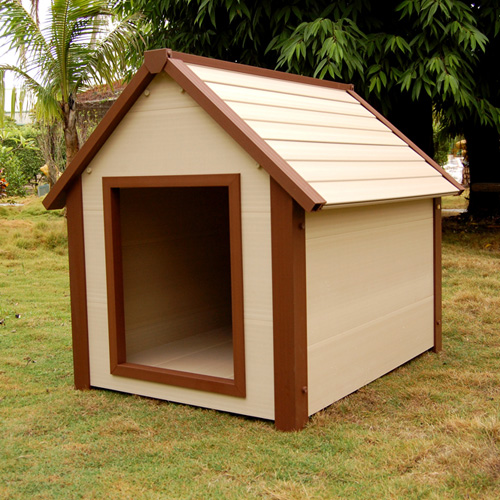 New age pet ecoflex hi r canine cottage super insulated for Insulated dog houses for large dogs