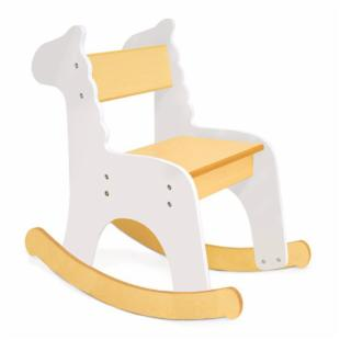 Pkolino Zebra Rocking Chair - White