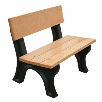 Landmark 4 ft. Commercial Grade Armless Park Bench