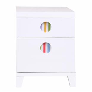 Powell LittleMissMatched SKETCHoRAMA Nightstand