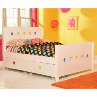 LittleMissMatched SKETCHoRAMA Panel Bed