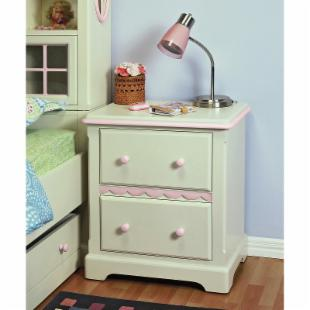 Dollhouse 2-Drawer Nightstand