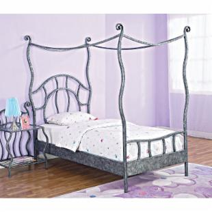 Powell Parisian Canopy Bed