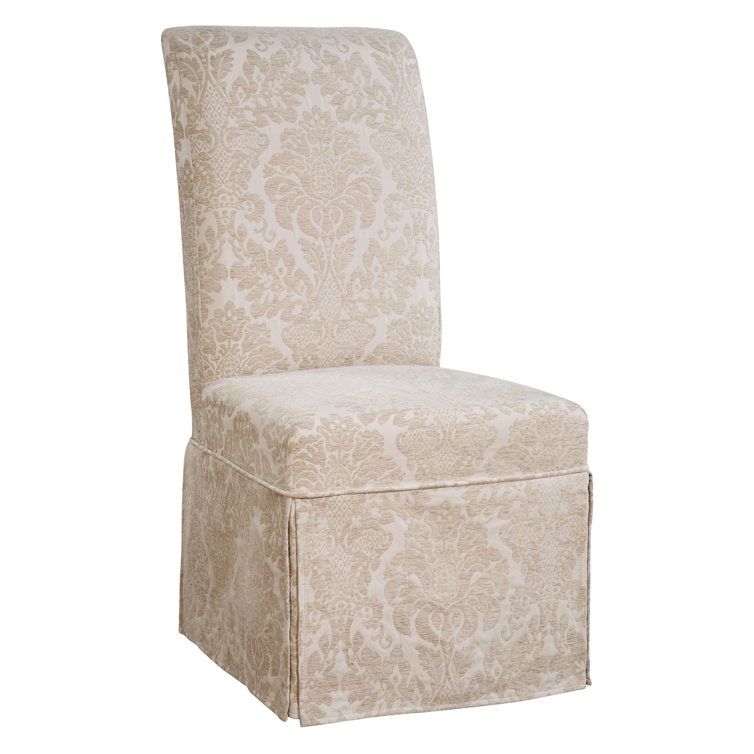 Powell Classic Seating Fleur De Lis Long Dining Room Chair