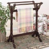  Powell Heirloom Cherry Quilt Rack