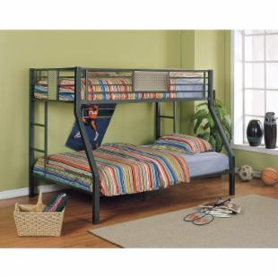 Powell Monster Bedroom Twin over Full Bunk Bed