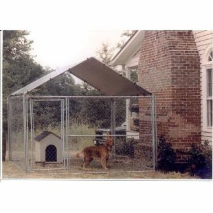 10&#39; x 10&#39; Pup Tent Kennel Cover