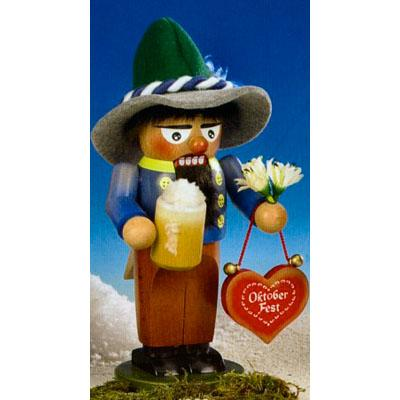 Steinbach Chubby Oktoberfest Man German Nutcracker 2008 Edition Signed