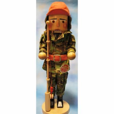2011 Signed Steinbach Fisherman German Nutcracker