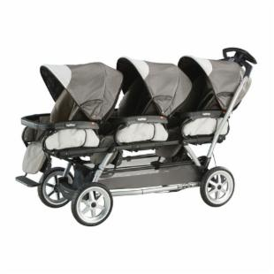 Peg Perago Triplette SW - Toffee Triple Stroller