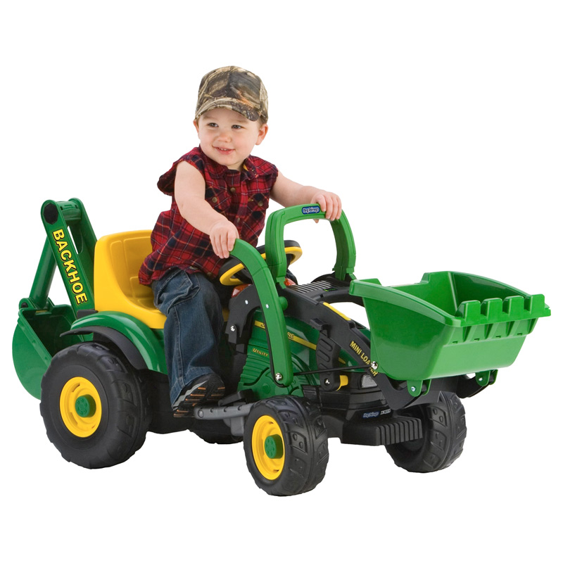 Peg Perego John Deere Utility Tractor Battery Powered