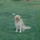  Precision Silver Pro-Handler Dog Exercise Pen