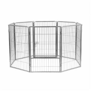 Precision Pet 8 Panel Courtyard Kennel