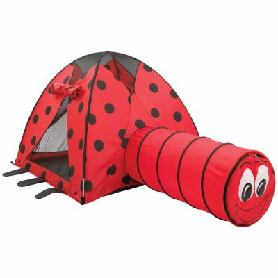  Pacific Play Tents Ladybug Nylon Play Tent and Tunnel Combo