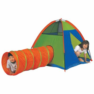  Pacific Play Tents Hide Me Nylon Play Tent and Tunnel Combo