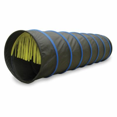  Tickle Me 6 ft. Tunnel   Black with Blue Trim