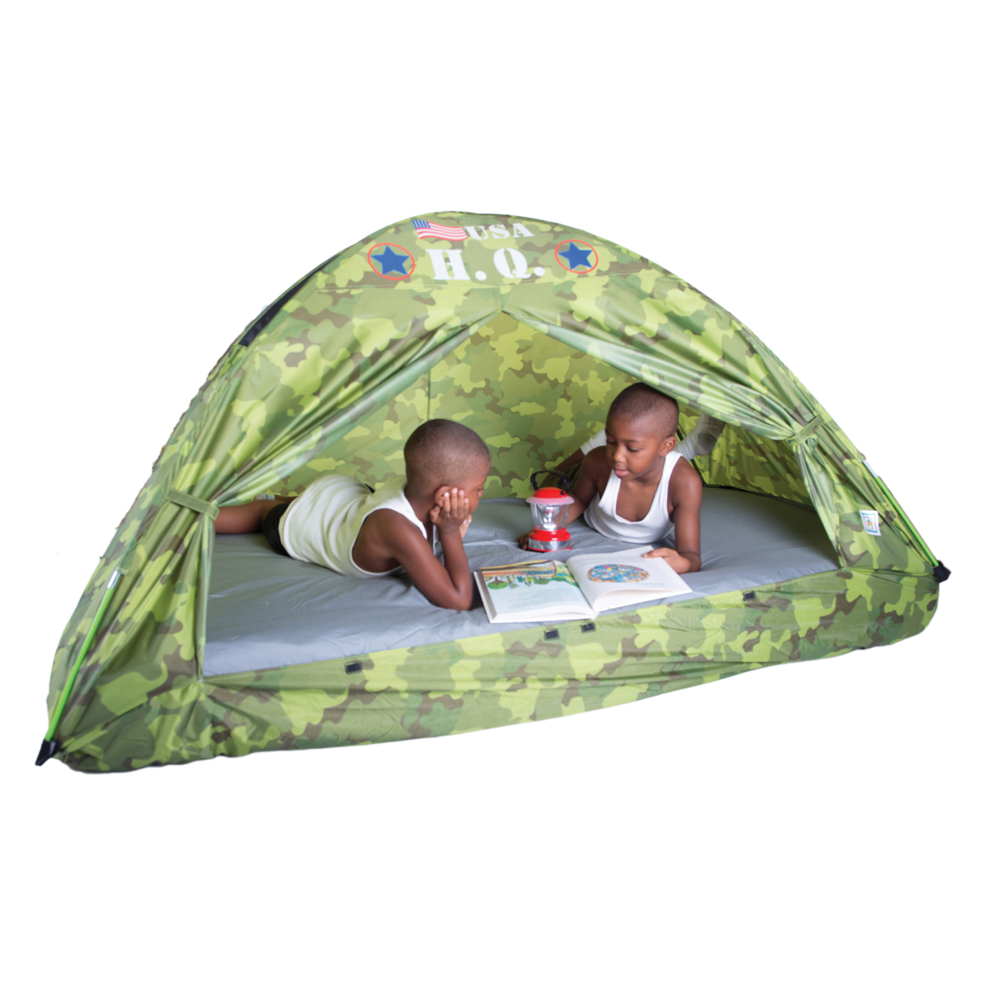 pacific play tents hq bed tent twin size indoor