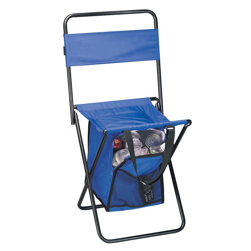Preferred Nation Folding Chair with Cooler Tailgating Seating at Hayneedle
