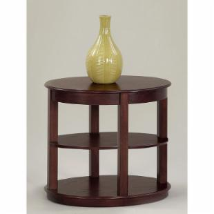 Progressive Furniture Oval End Table - Medium Ash