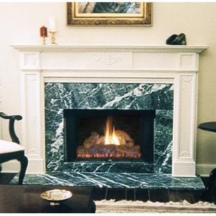 Pearl Mantels Jefferson Wood Fireplace Mantel Surround
