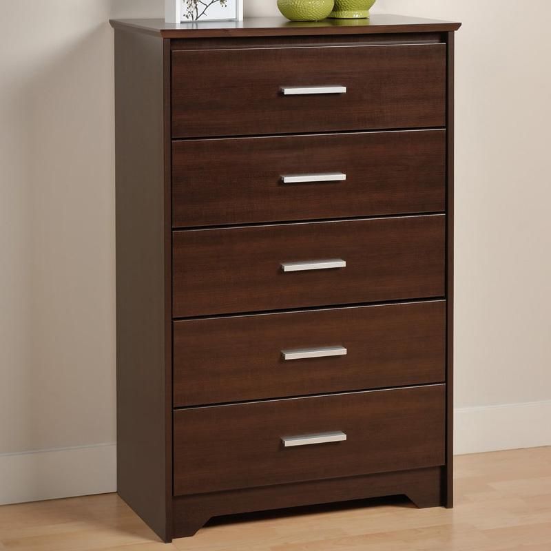 Coal Harbor 5 Drawer Chest - Espresso