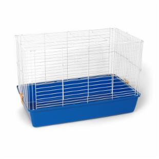 Prevue Pet Small Animal Deep Tub Cage with Blue Tub