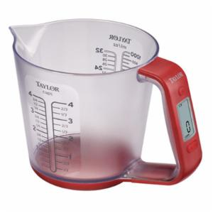 Taylor 3890 Digital Scale with Measuring Cup