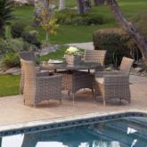  Mingle All Weather Wicker Patio Dining Set - Seats 4