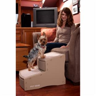 Pet Gear Tan Easy Step II Pet Stairs