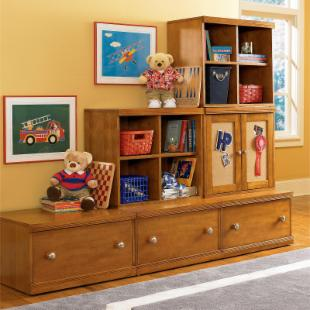 Bear Necessities Cocoa Wall Unit
