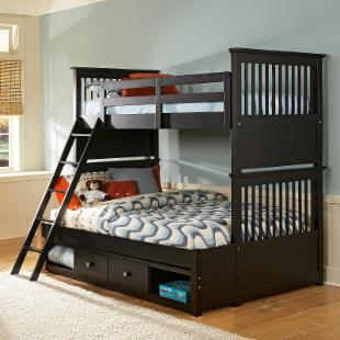 Build-A-Bear Beary Stylish Twin over Full Bunk Bed