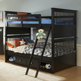 Build-A-Bear Beary Stylish Full over Full Bunk Bed