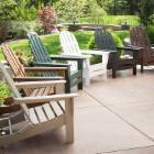  Exclusive! POLYWOOD&reg; Recycled Plastic Classic Curveback Adirondack Chair