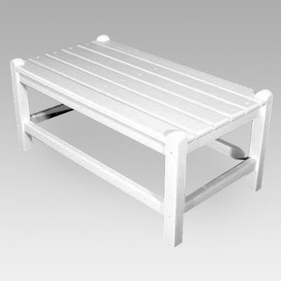 Polywood Recycled Plastic Rectangle Outdoor Coffee Table
