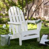 Exclusive! POLYWOOD® Recycled Plastic Classic Reclining Adirondack Chair