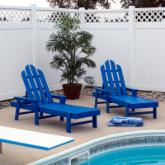 POLYWOOD® Recycled Plastic Long Island Chaise Lounge
