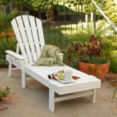 POLYWOOD® Recycled Plastic South Beach Chaise Lounge