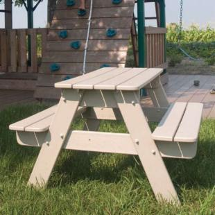 POLYWOOD&#174; Recycled Plastic Kids Picnic Table