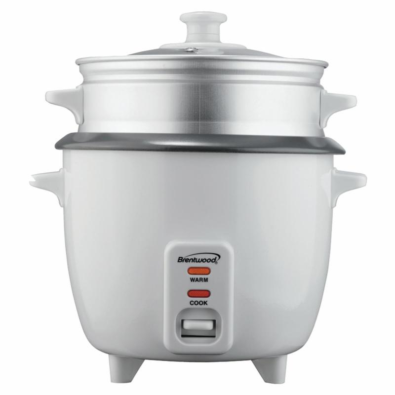 Brentwood TS-180S Rice Cooker with Steamer PXX598-1