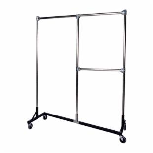 Heavy Duty Steel Dual Z Rolling Rack