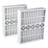 FurnaceFilters.com General Filter Compatible Odor Ban MERV 8 Replacement Furnace Filter-20 x 24 x 5 inches-2 pk.