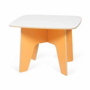 Sprout Childrens Table - Orange and White